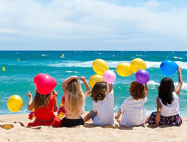 Regalamos un viaje en familia a la playa en la feria for Hoteles para familias en la playa