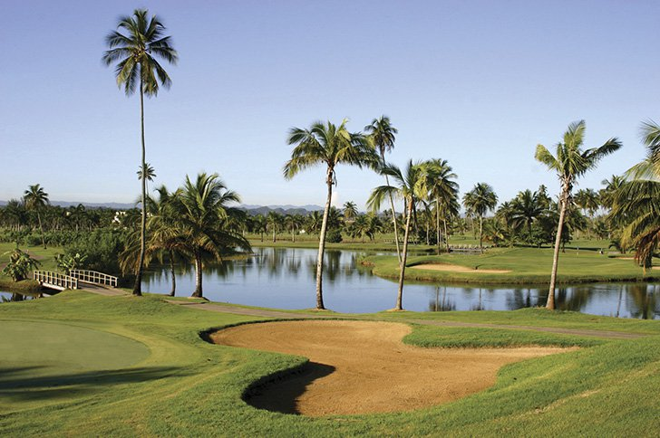 Dorado Beach Golf Courses en Puerto Rico