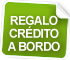 Regalo crédito a bordo
