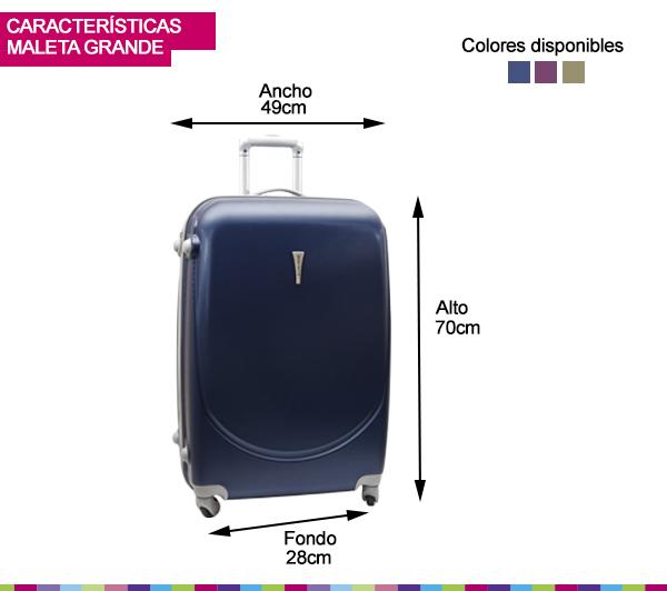 Desplazamiento apretado función  Limited Time Deals·New Deals Everyday medidas de una maleta grande de  viaje, OFF 73%,Buy!