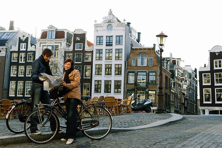 La bici como compa era de viaje for Affitto bici amsterdam