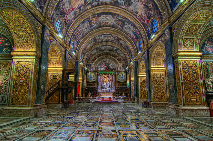 Valletta Stjohns Cathedral Clivevella