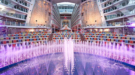Aqua Theater en el buque Harmony of the seas