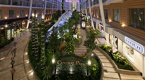 Central Park en el buque Harmony of the seas