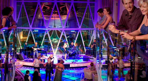 Discoteca en el buque Harmony of the seas