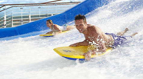 Flowrider en el buque Harmony of the seas